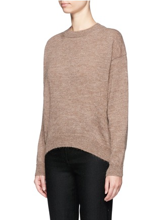 Front View - Click To Enlarge - Acne Studios - 'Jhira' alpaca-wool sweater