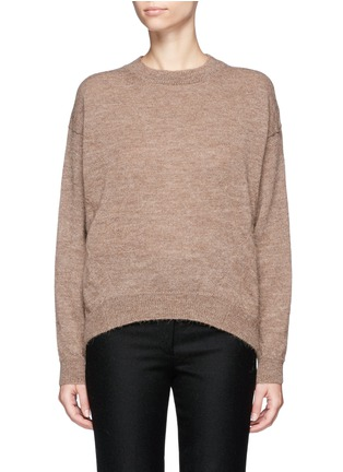 Main View - Click To Enlarge - Acne Studios - 'Jhira' alpaca-wool sweater