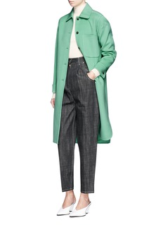 Acne Studios 'Berkeley' felted wool-cashmere utility coat