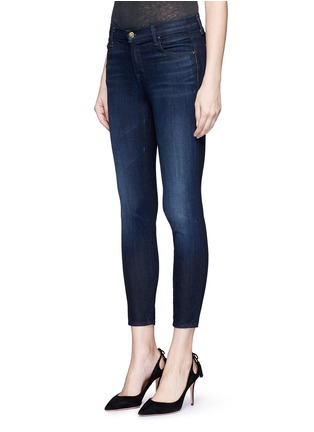 Front View - Click To Enlarge - J Brand - 'Capri' mid rise cropped skinny jeans