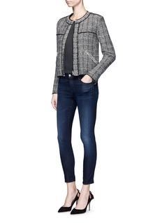 J Brand'Capri' mid rise cropped skinny jeans
