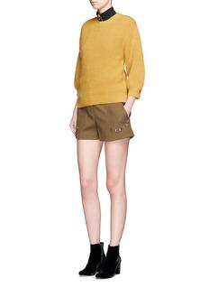 3.1 Phillip LimWool blend rib knit sweater