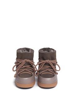 INUIKII''Classic' sheepskin shearling kids boots
