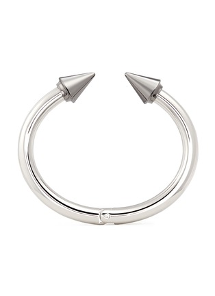 Main View - Click To Enlarge - VITA FEDE - 'Titan Two Tone' silver spike cuff