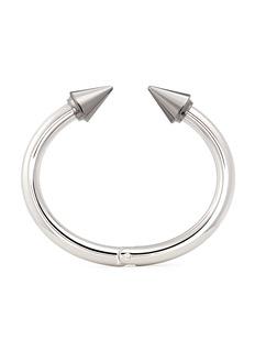 VITA FEDE'Titan Two Tone' silver spike cuff
