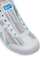 'Mexico 66' herringbone stripe slip-on sneakers
