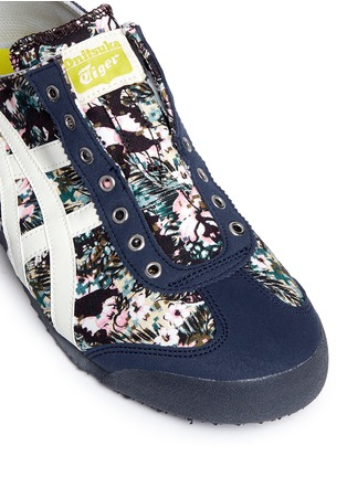 Detail View - Click To Enlarge - Onitsuka Tiger - 'Mexico 66 Paraty' floral print laceless sneakers