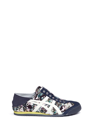 Main View - Click To Enlarge - Onitsuka Tiger - 'Mexico 66 Paraty' floral print laceless sneakers