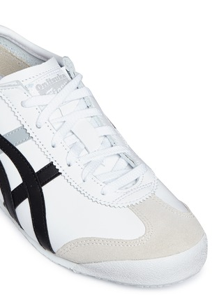 Detail View - Click To Enlarge - Onitsuka Tiger - 'Mexico 66' stripe leather sneakers