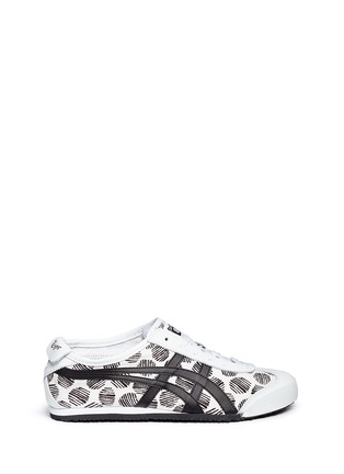 Main View - Click To Enlarge - Onitsuka Tiger - 'Mexico 66' polka dot print twill sneakers