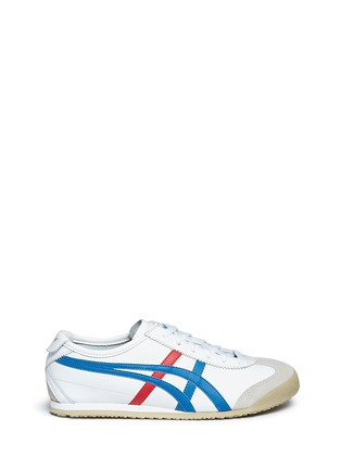 Onitsuka Tiger - 'Mexico 66' stripe leather sneakers