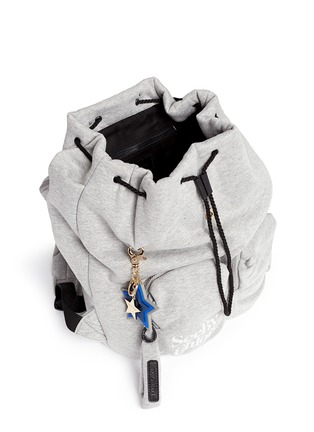 See by Chloé - 'Joy Rider' logo keychain jersey backpack