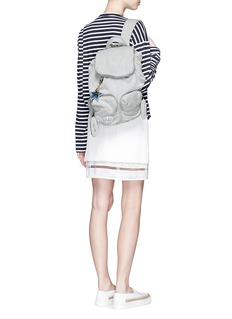 SEE BY CHLOÉ 'Joy Rider' logo keychain jersey backpack