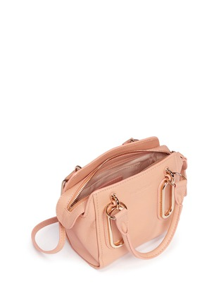 Detail View - Click To Enlarge - See by Chloé - 'Paige' mini leather crossbody bag