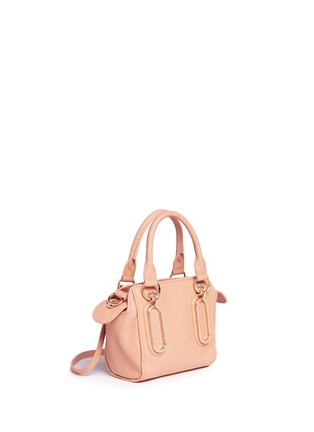 Front View - Click To Enlarge - See by Chloé - 'Paige' mini leather crossbody bag