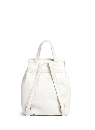 Back View - Click To Enlarge - Mansur Gavriel - Mini tumbled leather backpack