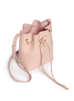Detail View - Click To Enlarge - Mansur Gavriel - Mini mini leather bucket bag