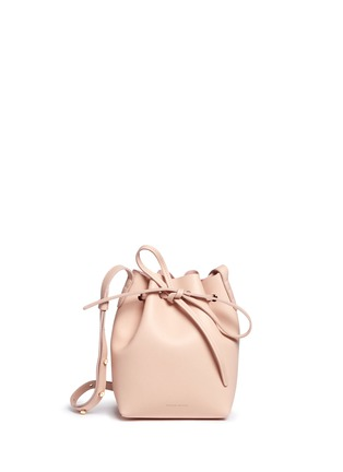 Main View - Click To Enlarge - Mansur Gavriel - Mini mini leather bucket bag