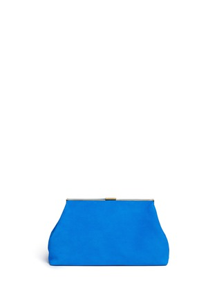 Main View - Click To Enlarge - Mansur Gavriel - Volume' suede clutch