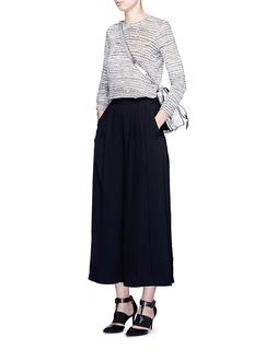 PROENZA SCHOULERPiped seam satin back crepe culottes