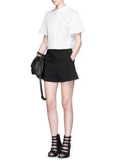PROENZA SCHOULERWide sleeve cotton poplin cropped shirt