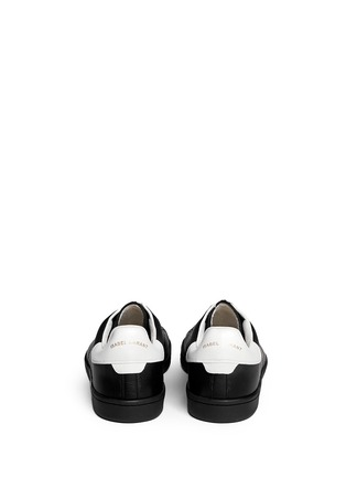 Back View - Click To Enlarge - Isabel Marant Étoile - 'Bart' leather sneakers