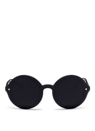 Main View - Click To Enlarge - 3.1 Phillip Lim - x Linda Farrow hover lens acetate round sunglasses