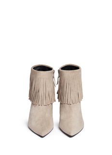 STUART WEITZMAN 'Fringe Times' suede ankle boots