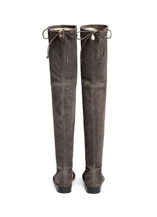 Stuart Weitzman-'Lowland' suede thigh high boots