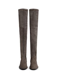 STUART WEITZMAN'Lowland' suede thigh high boots