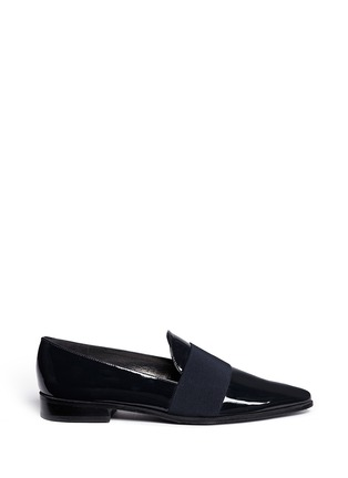 Main View - Click To Enlarge - Stuart Weitzman - 'The Band' leather slip-ons