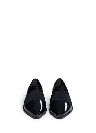 Figure View - Click To Enlarge - Stuart Weitzman - 'The Band' leather slip-ons