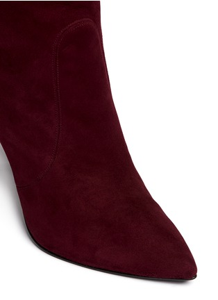 Detail View - Click To Enlarge - Stuart Weitzman - 'Hyper' suede knee high boots