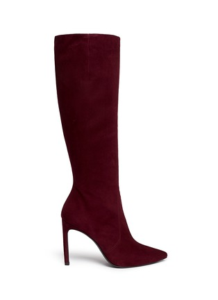 Main View - Click To Enlarge - Stuart Weitzman - 'Hyper' suede knee high boots