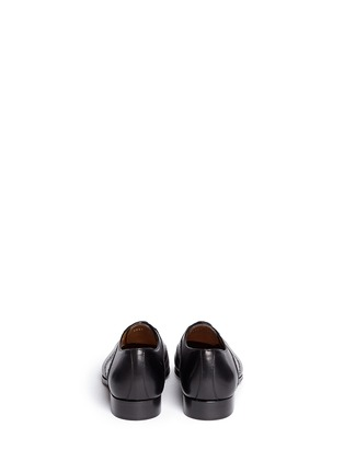 Back View - Click To Enlarge - Rolando Sturlini - Perforated border leather Oxfords