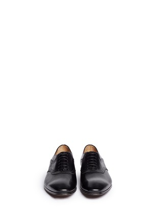 Figure View - Click To Enlarge - Rolando Sturlini - Perforated border leather Oxfords