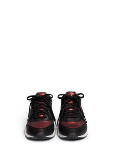 ASH 'Hendrix' leather suede sneakers