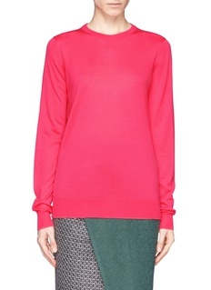 PROENZA SCHOULERSemi sheer Merino wool sweater