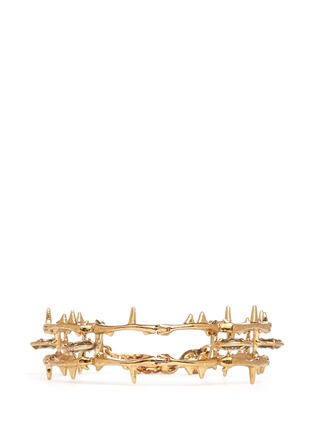 Main View - Click To Enlarge - Alexander McQueen - Skull vine chain bracelet
