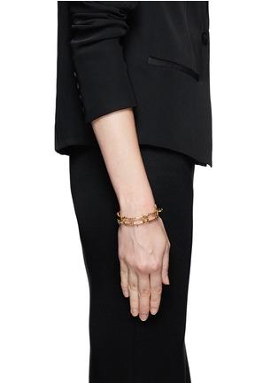 Figure View - Click To Enlarge - Alexander McQueen - Skull vine chain bracelet