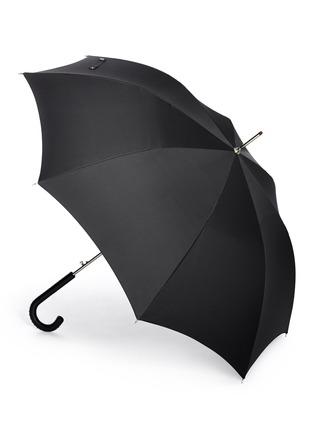 Figure View - Click To Enlarge - Alexander McQueen - Stud leather handle umbrella