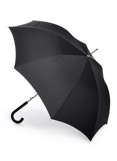 ALEXANDER MCQUEEN Stud leather handle umbrella