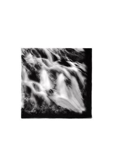 ALEXANDER MCQUEENSilk waterfall scarf