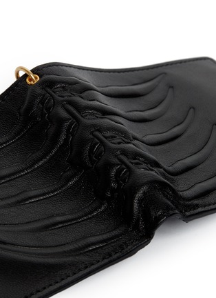 Detail View - Click To Enlarge - Alexander McQueen - Spinal cord chain bi-fold wallet