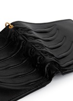 Spinal cord chain bi-fold wallet