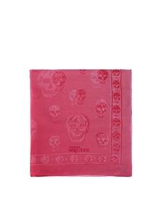 ALEXANDER MCQUEENDégradé skull silk scarf