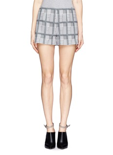 HELEN LEE Rabbit houndstooth shorts