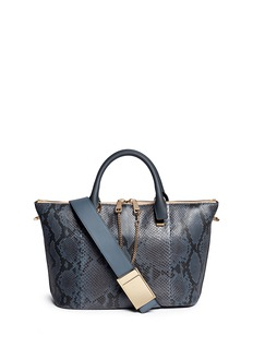 CHLOÉBaylee' medium python leather tote