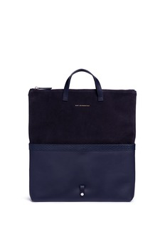 Want Les Essentiels De La Vie 'Peretola' foldable leather tote bag