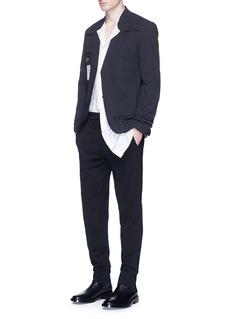 Maison Margiela'Re-edition' reversed soft blazer